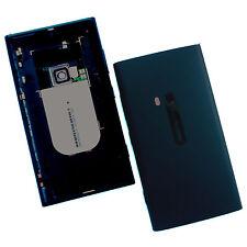 100% Nokia Lumia 920 posteriore alloggiamento+fotocamera vetro+tasti Nera cover