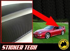 3M CARBON FIBRE B PILLAR OVERLAY STICKER DECAL SUITS NISSAN 240SX 300ZX Z32 Z34