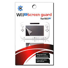 USA SELLER: New Nintendo Wii U Gamepad Screen Guard Screen Protector