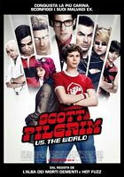 POSTER SCOTT PILGRIM VS THE WORLD MICHAEL CERA LOCANDINA FUMETTO GRAPHIC NOVEL 2