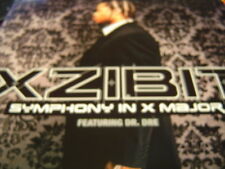 "XZIBIT SYMPONY IN X MAJOR DR DRE 12"" 2002 DJ PROMO NEW"