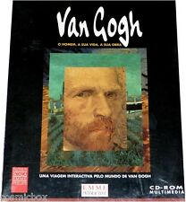 Logiciel VAN GOGH version portuguaise homen a sua vida obra em portugues cd pc
