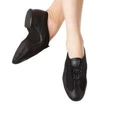 Bloch ES0485L Black Women's Size 4 Medium (fits size 3.5) Slipstream Jazz Shoe