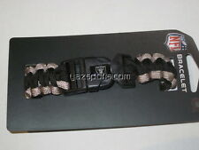 Oakland Raiders Survivor Bracelet