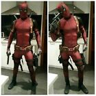 New Halloween Lycra Spandex Full Body Deadpool Avengers Cosplay Costume