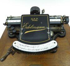 Edelmann Schreibmaschine typewriter macchina da scrivere máquina de escribir