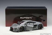 Autoart  AUDI R8 LMS PLAIN COLOR VERSION NARDO GREY 1/18 Scale New! In Stock!