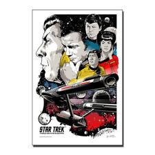 Star Trek Discovery 2017 Movie Canvas Posters Art Prints Decor 8x12 24x36 inch