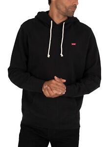 Levi's Men's New Original Pullover Hoodie, Black