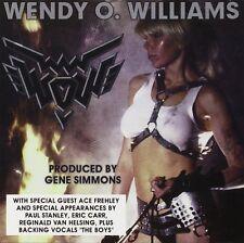 WENDY O WILLIAMS of PLASMATICS New Sealed WOW SOLO VINYL RECORD