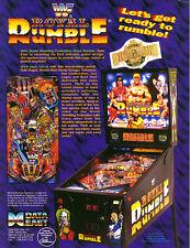WWF ROYAL RUMBLE pinball eprom sound chip set