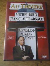 DVD * BON WEEK-END MONSIEUR BENNETT * ARNAUD ROUX FAGADEAU WATKIN AU Theatre