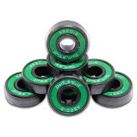 8pcs ABEC-9 22x7mm Rapid Skateboard Bearing Cr Mo steel Longboard Pro Bearings