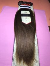 """Jazz Wave Collection_100% Remy Human Hair 16""""_#6_Clip_On Extension_5_Pcs"""
