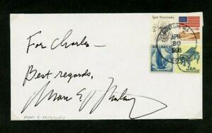 Autographié Enveloppe Marc Mostovoy Conducteur Concerto Soloists Chambre