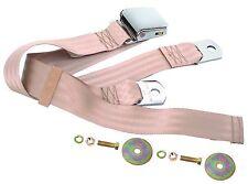 Mustang Seat Belt Lap Belt Style Each 64 1965 66 67 68 69 70 71 72 73 Parchment
