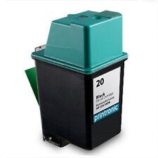 Black HP 20 Ink Cartridge C6614D FAX 1010 1010xi 1020 1020xi 1040 1040xi 1050