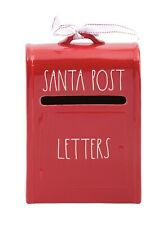 New Rae Dunn Red Santa Post Letters Mailbox - Christmas 2020 Online Exclusive