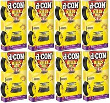 8 boxes - D-CON (1920082043) 2 pack No View No Touch Mouse Traps