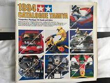 Vintage Tamiya 1994 Model Catalogue - French Language.