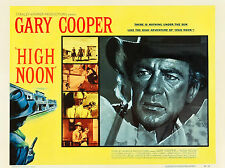 """High Noon 1952 16"""" x 12"""" Reproduction Movie Poster Photograph"""