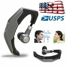 Bluetooth Headset Earphone Handsfree Earpiece w/ Mic for Samsung A11s A20e A21s