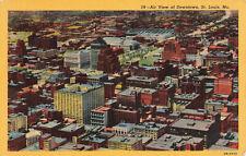 Postcard Downtown Saint Louis Missouri