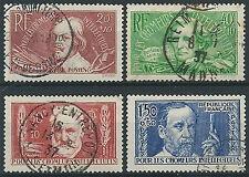 1936 FRANCIA USATO PRO INTELLETTUALI DISOCCUPATI - EDF023