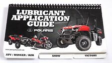 POLARIS OEM USED SNOWMOBILE MOTORCYCLE ATV SERVICE MANUAL LUBRICANT 991XXXX