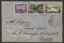 Colonie Italiane. SOMALIA + ERITREA + A.O.I.. Aerogramma del 18.6.1939 da Harar