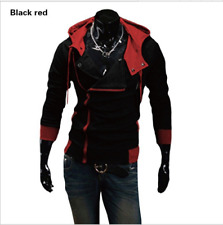 Fashion Mens Jacket Creed Hoodie Cool Slim For Assassins Cosplay Costume Lot