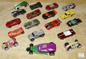 COLLECTION JOBLOT 18x HOTWHEELS DIECAST CARS BATMAN POTC MUSTANG VIPER CORVETTE