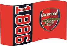 Arsenal Football 1886 Drapeau 5 ft (environ 1.52 m) x 3 ft (environ 0.91 m)