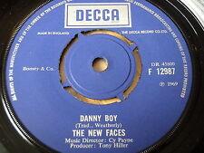 """Las Nuevas Caras-Danny Boy/ver las rosas floración 7"""" Vinilo"""
