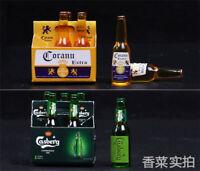 HOT FIGURE TOYS 1/6 Model Scene Accessories Bottled Beer Corona Carlsberg Wine