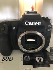 Canon EOS 80D 24.2MP Digital SLR Camera Excellent Condition Video 1080p 60FPS