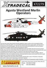 NEW 1:72 Xtradecal X72279 Augusta Westland Merlin Worldwide Operators