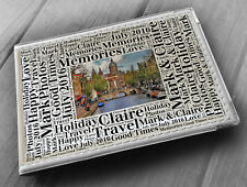 "Personalised photo album, memory book, 6x4"" photos, Amsterdam holland holiday"