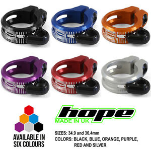 Hope Dropper Seat Seatpost Clamp - All Colors and Sizes - Brand New