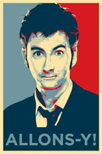 "021 DAVID TENNANT - Doctor Who UK Actor 24""x36"" Poster"