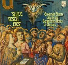 SALVE FESTA DIES Gregorian Chants sung by the Benedictine Monks of Clervaux LP
