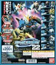 SD Gundam Warrior NEXT 22 Gashapon Zeta The O RX-178 MK-II G-Defenser Set 7pcs