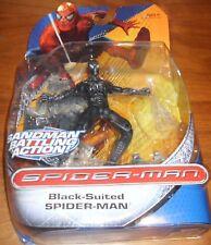 Spiderman Black Suited Spiderman Sandman Battling Action NEW SEALED RARE Hasbro