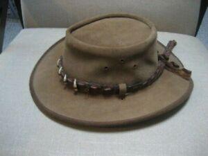 Crocodile Dundee like Hat-Cutana Design Australia's Finest Leather Hat