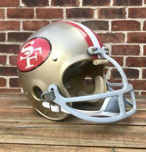 Vintage 49ers  Riddell Kra-Lite TK2 Suspension Football Helmet Dungard Facemask