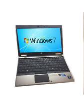 HP EliteBook 2560p Grade A Core i5 2.5GHz 6Gb 500Gb Webcam HDD Win 7 Pro