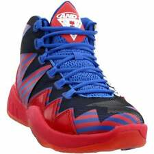 AND1 Boom  Casual Basketball  Shoes - Red - Mens
