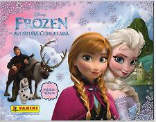 Panini 2014 Disney FROZEN Complete Loose Sticker Set+Empty Album (192 Stickers)