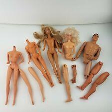 Vintage Barbie bodies Mattel parts repair MALIBU Tan Doll Formative Int'l GI joe