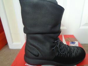 Nike Roshe Two Hi Flyknit wmns boots trainers 861708 001 uk 5.5 eu 39 us 8 NEW